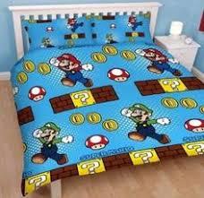 Mario Bros Bed Set Official Nintendo Mario Brothers Bedding Duvet Cover Sets