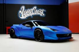 how much is 458 italia justin bieber s neon blue 458 italia is up for auction