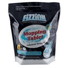 fizzion 5 gal tablet drop and mop floor cleaner 45 count 156