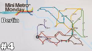 Berlin Germany Map by Berlin Germany Mini Metro Monday Ep4 Youtube