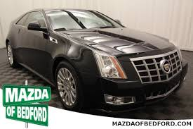 cts cadillac 2012 certified pre owned 2012 cadillac cts premium 2d coupe in bedford