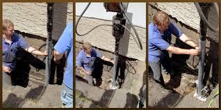 buckling basement wall repair fix bowing walls basement water