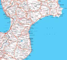 Italy City Map by Catanzaro City Map U2022 Mapsof Net
