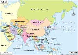 africa map countries and capitals map of asia with capital cities major tourist
