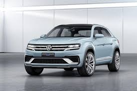 volkswagen 7 passenger suv volkswagen cars news cross coupe gte concept unveiled