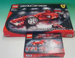 ferrari f1 lego mullock u0027s auctions lego 8386 1 10 ferrari f1 racer partially