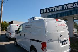 nissan canada richmond bc nissan nv200 reefer van fleet for frozen deliveries