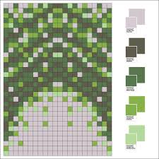 floor design inspired by pantone colour of the year burmatex