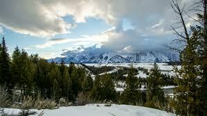 Colorado travel log images Breckenridge colorado usa ski resort sun flare log cabin trees jpg