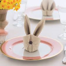 easter napkins bunny napkins how to fold bunny napkins