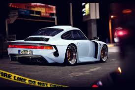 check out this radical porsche 959 dubbed moby