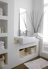 bathroom built in storage ideas 51 best baños images on bathroom designs bathroom