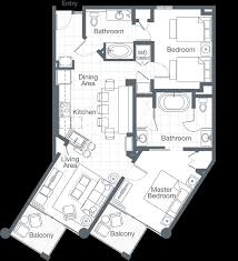 Split Two Bedroom Layout The Westin St John Resort U0026 Villas Three Bedroom Villa Bay Vista