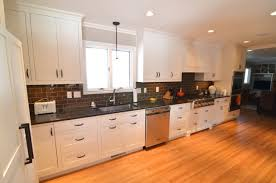 White Kitchen Design Ideas by Painted White Kitchen Cabinets Before And After Quartz Countertops