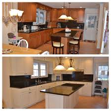 Milk Paint On Kitchen Cabinets Kitchen Makeover In Antique White Milk Paint General Finishes
