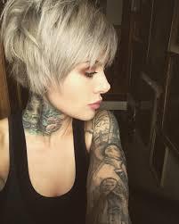 fresh edgy haircuts for female professionals silver pixie cut short bob haircut edgy short hair pinterest