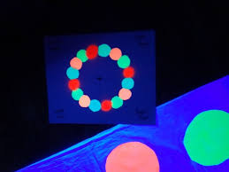 Glow In The Dark Lights Make Your Own Glow In The Dark Twister Game Holidappy