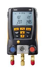 testo 550 digital manifold refrigeration parameters testo inc