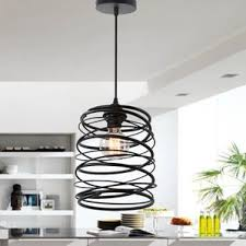 Caged Pendant Light Industrial Pendant Lights You U0027ll Love Wayfair