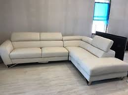 Nicoletti Leather Sofa by New White Nicoletti Deiancey Italian Leather Sectional Sofa 2