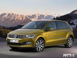 new volkswagen car next gen 2017 vw polo rendering