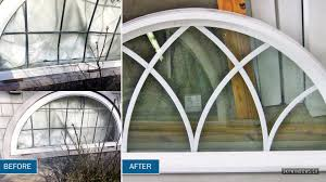 Replace Broken Window Glass Company That Can Fix Broken Glass And Replace Arch Basement