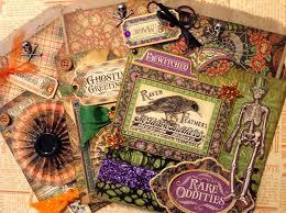 Halloween Gift Bag by Fotobella G45 Rare Oddities Halloween Gift Card Bag Tutorial