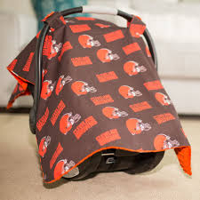 Carseat Canopy For Boy by Cleveland Browns Baby Gear Carseat Canopy Cover Nfl Licensed