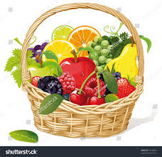 fruit basket fruit basket stock vector 79136668 shutterstock