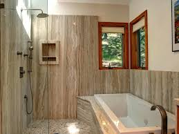 Bathroom Tub Tile Ideas Bathroom Bath Tub Tile Surround Natural Light Recessed Cubby
