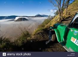 jeep indonesia atv jeep in front of gunung bromo or mount bromo area java