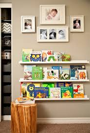 how to create a library wall ribba picture ledge picture ledge
