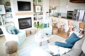 Coastal Themed Home Decor Living Room Decorating Ideas Home Decoration