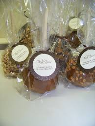 caramel apple party favors wedding caramel apples verhage s vintage farm market at the mill