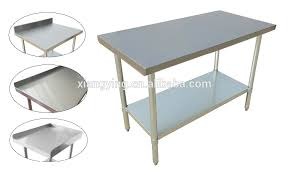 stainless steel corner work table stainless steel corner work table with plastic adjustable feet buy