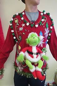 ugly christmas sweaters that light up and sing grinch me hysterical light up ugly christmas sweater party footed