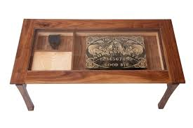 fancy coffee table glass display about home interior design