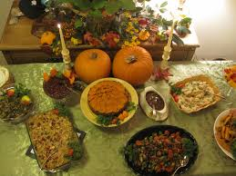 thanksgiving table settings vegan for the holidays