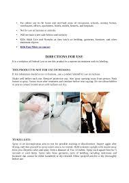 Bedlam Bed Bug Spray Bedlam Bed Bug Insecticide Spray