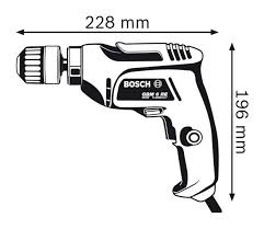 r e gbm 6 re professional drill bosch
