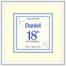 18th birthday cards presents u0026 gifts