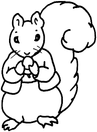 nut coloring page free squirrel coloring pages