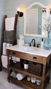 cottage bathroom ideas rustic crafts weekend reads 3 cottage style bathrooms bathroom ladder and