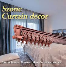 Curtain Railing Designs Ceiling Design Flexible Curved Aluminium Curtain Rail Buy