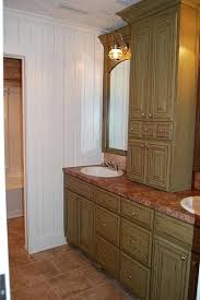 double sink vanity with middle tower beautiful double vanity with tower custom pine double vanity w