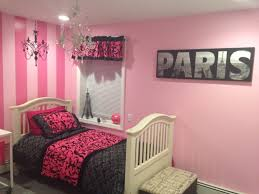 Pink Black Bedroom Decor by Decor Themes Bedroom Paris Bedroom Decor Teenagers Paris Themed