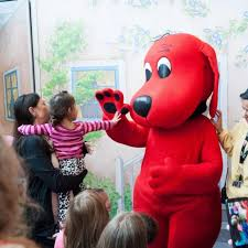 Clifford Big Red Dog Halloween Costume Clifford Big Red Dog Exhibit Kids St Louis