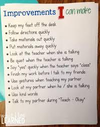 student goal setting in elementary