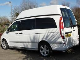 mercedes vito vans for sale mercedes vito caper 2 berth 2007 used motorhomes for sale