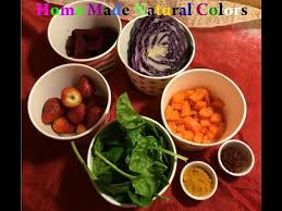 how to make natural food coloring concentrated color recipe